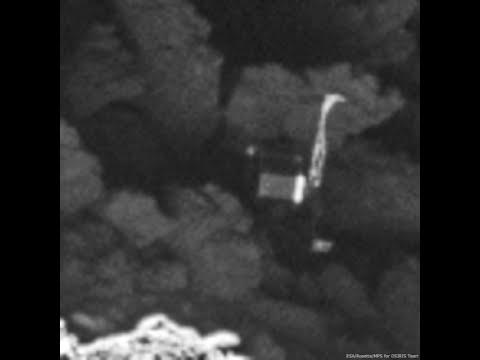 On a retrouvé Philae sur la comète Tchoury !