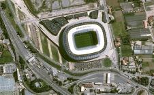 Stade de Nice: son vrai nom visible depuis l'espace !