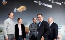 Laurent Lestarquit et son équipe, finalistes du Prix de l'Inventeur 2017