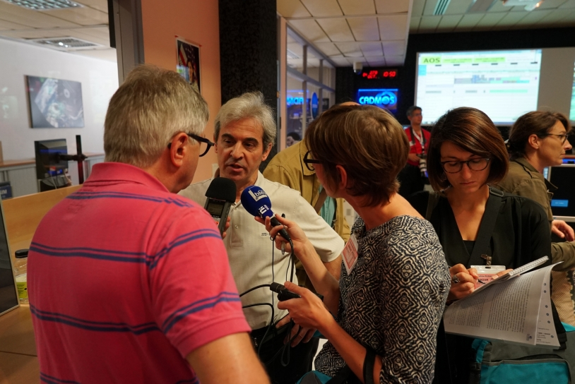 Visite de presse au Cadmos