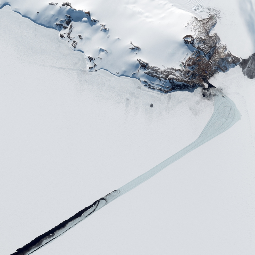 La base Antarctique McMurdo vue par Pléiades