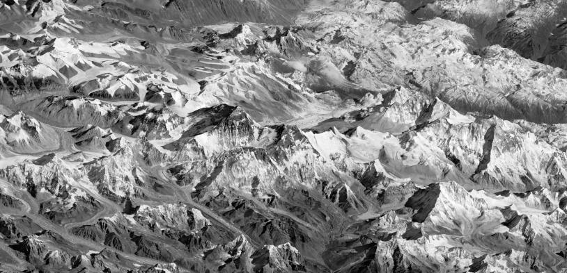 Massif Himalaya vu par Pléiades