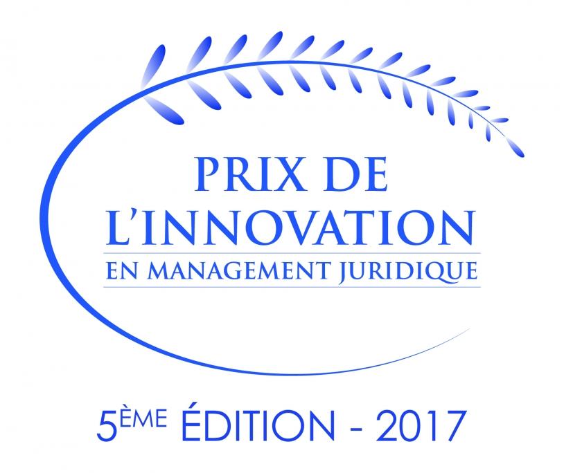 Logo Prix de l'innovation en management juridique 2017