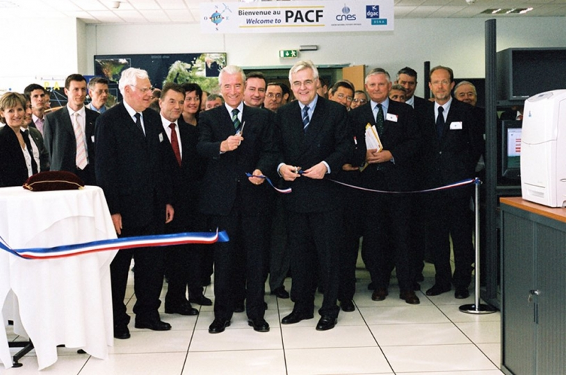 Inauguration du PACF à Toulouse, le 24 mars (c) CNES/E.Grimault, 2005