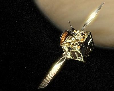 Venus Express probe. Credit: Ill. ESA.