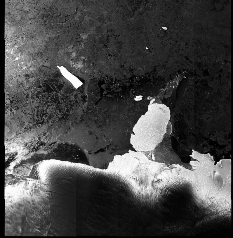 Image issue des données du satellite Envisat. Crédits : ESA.