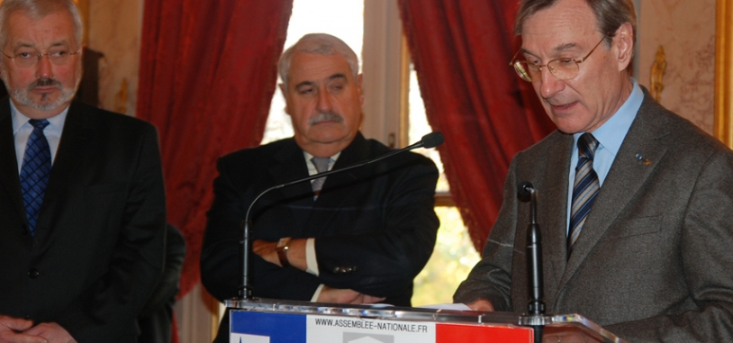 Yannick d'Escatha, président du CNES, s'est félicité du formidable succès d'Espace dans ma Ville avec la participation de 30 000 jeunes depuis la 1ere édition. Crédits : CNES.