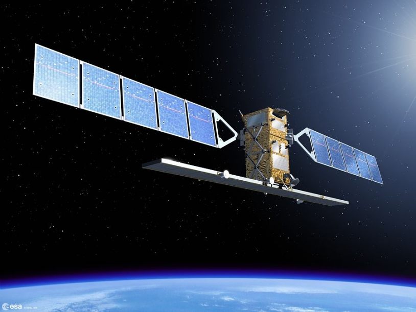 The European Envisat satellite is often called into action. Credits: ESA.