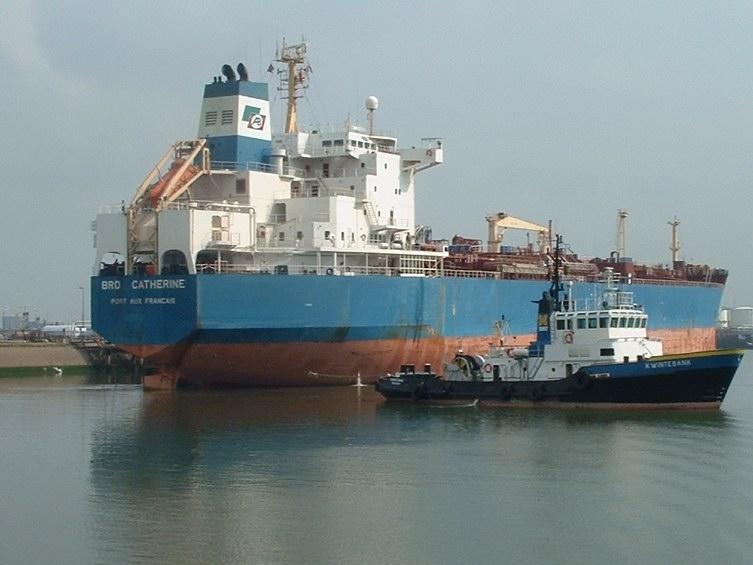 Le Bro Catherine, un chimiquier de 45 000 t de port en lourd de Broström Tankers, a participé à la phase de test. Crédits : Broström Tankers.