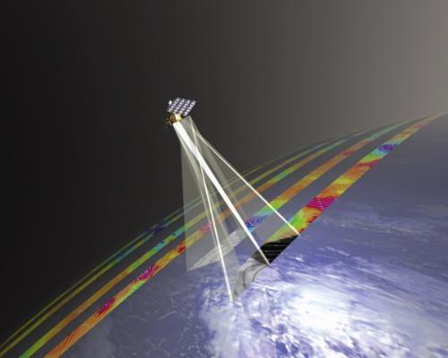 Le sondeur IASI, embarqué sur le satellite MetOp. Crédits : ESA.