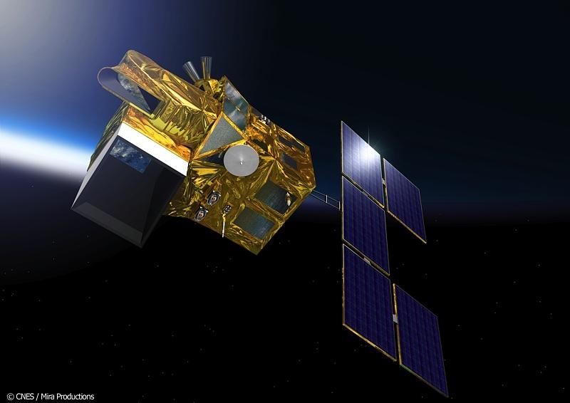 HELIOS-2B devrait commencer à fournir des images dans 6 mois. Crédits : CNES/ Mira prod.