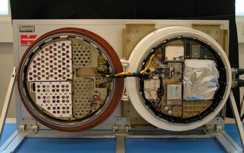 ESA's BIOPAN module, where the UVolution experiment was housed. Credits: LISA.