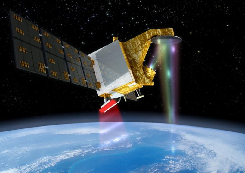 Le satellite CFOSAT devrait être opérationnel en orbite en 2015. Crédits : CNES/ill.Oliver SATTLER, 2011.