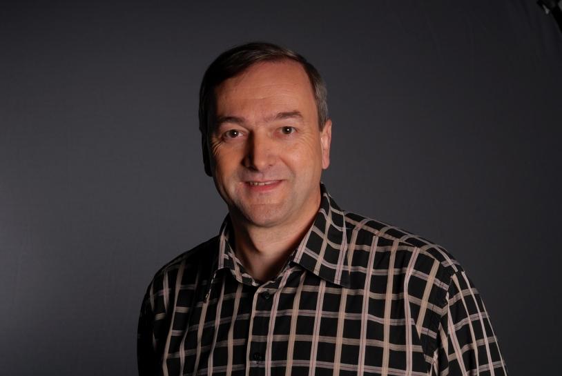 Alain Gaboriaud, chef de projet CNES de la contribution française à Phobos-Grunt. Crédits : CNES.