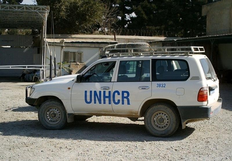 Exemple de véhicule de la flotte du Haut Commissariat des Nations Unies pour les Réfugiés (HCR). Crédits : HCR.