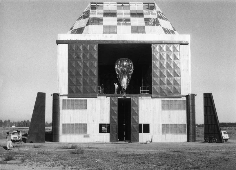 Station de lancement Eole, en Argentine Crédits: CNES, 1972.