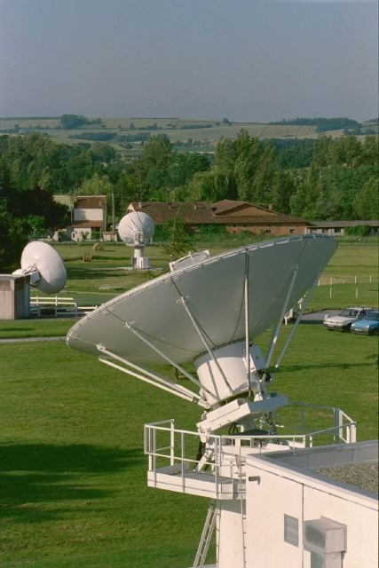 Antenne de réception. © CNES