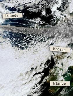 Eruption en Islande - Repères géographiques