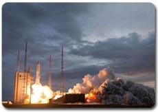 Décollage d'Ariane depuis la zone de lancement ZL3, 26 juin 2010