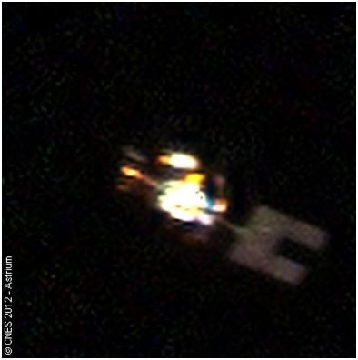 Le satellite Spot 5 par Pléiades 1A