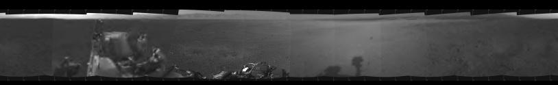 Panorama à 360° autour de Curiosity