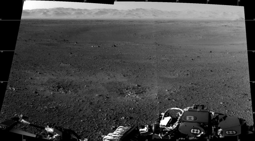Premières images HD de l'environnement de Curiosity